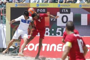 Mundialito de futebol de praia. Portugal vs It‡lia ( 5-3 ). Praia de Canide, Gaia.