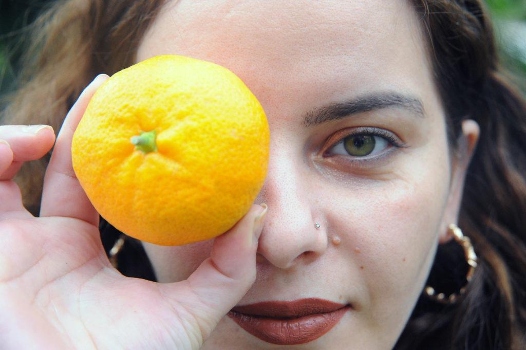 Tangerine girl